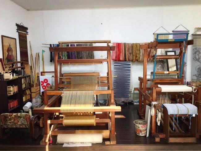絹織物の羅籐組(RATOSO)工房