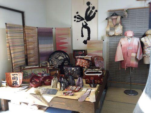 絹織物の羅籐組(RATOSO)さんの作品