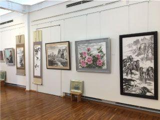 糸山自動車文化館3周年記念絵画