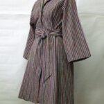 紬からラグランコート