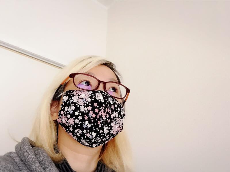 QOOPYの手作り布マスク